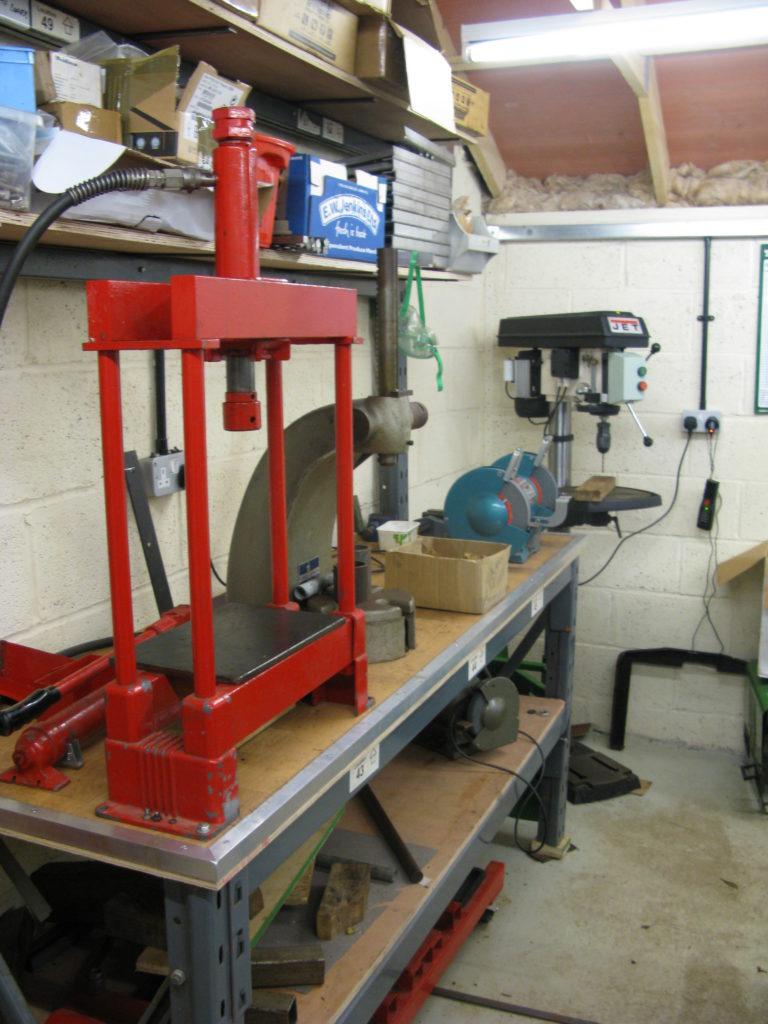 Hydraulic Arbour Press