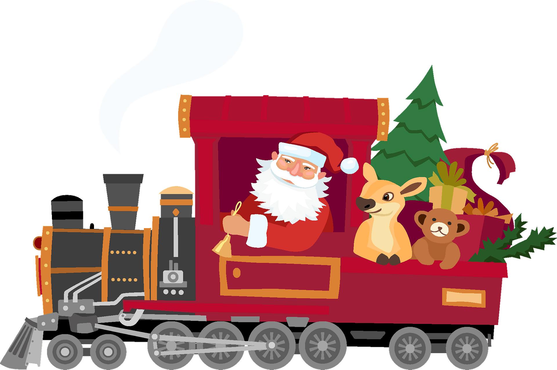 Santa Special Train Image